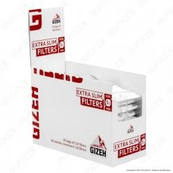 Gizeh Extra Slim 5,3mm - Box 20 Bustine da 150 Filtri