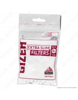 Gizeh Extra Slim 5,3mm - Bustina da 150 Filtri