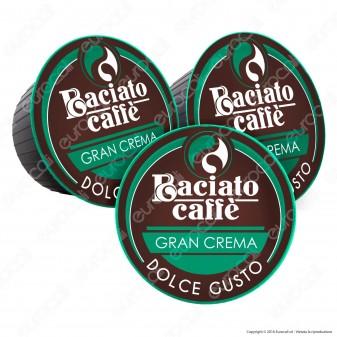 80 Capsule Baciato Caffè Gran Crema Cialde Compatibili Nescafè Dolce Gusto - Lotto Difettoso