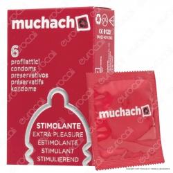 Muchacho Stimolante - Scatola da 6 Preservativi