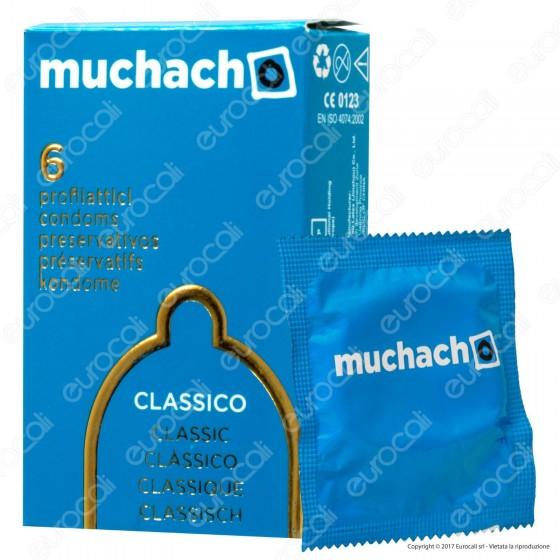Muchacho Classico - Scatola da 6 Preservativi