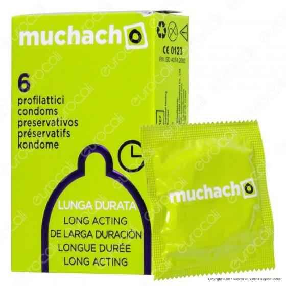 Muchacho Lunga Durata - Scatola da 6 Preservativi