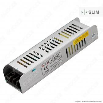 V-Tac Alimentatore VT-20121 Slim Series 120W Per Uso Interno a 1 Uscita con Morsetti a Vite - SKU 3226