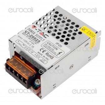 V-Tac Alimentatore 25W Per Uso Interno a 1 Uscita con Morsetti a Vite - SKU 3050