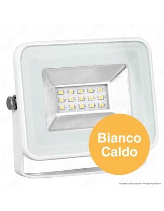 V-Tac VT-4611 I-Series Faretto LED SMD 10W Ultra Sottile da Esterno Colore Bianco - SKU 5898 / 5899
