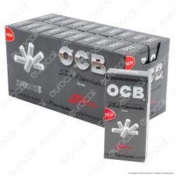 Ocb Stick Premium Slim 6mm Pop-up In Cannuccia - Box 20 Scatoline da 102 Filtri