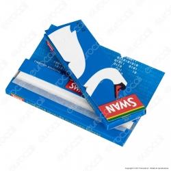 Cartine Swan Blu Corte Blue - Libretto