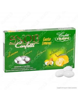Confetti Crispo Snob con Mandorle Tostate Gusto Limone - Confezione 500g