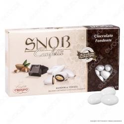Confetti Crispo Snob con Mandorle Tostate Gusto Cioccolato Fondente - Confezione 1000g