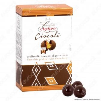 Confetti Crispo Ciocolì Praline di Cioccolato al gusto Rhum - Confezione 400g