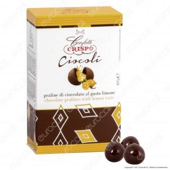 Confetti Crispo Ciocolì Praline di Cioccolato al gusto Limone - Confezione 400g