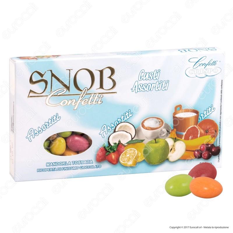 Confetti Crispo Snob con Mandorle Tostate Gusti Assortiti - Confezione 500g