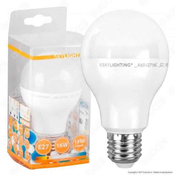 SkyLighting Lampadina LED E27 16W Bulb A65