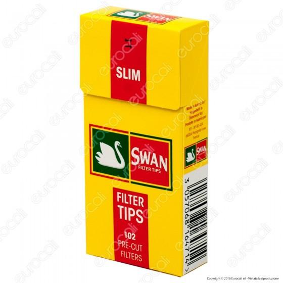 Swan Slim 6mm In Cannuccia - Scatolina da 102 Filtri