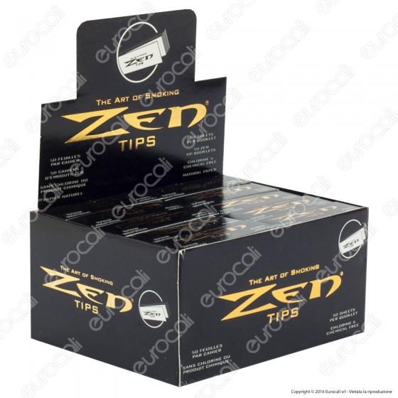 Zen Filtri In Carta Slim - Scatola da 50 Blocchetti
