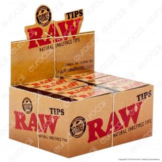 Raw Filtri In Carta Non Sbiancata - Scatola da 50 Blocchetti