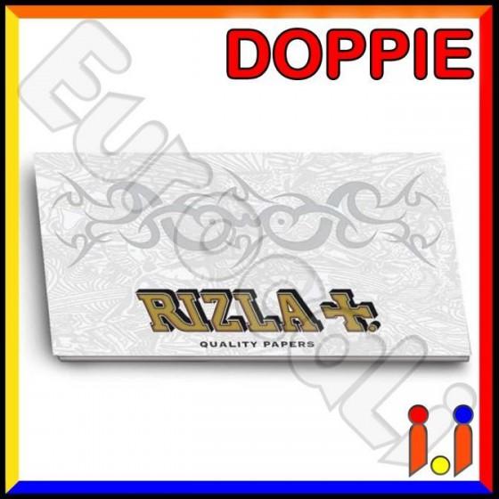 Cartine Rizla White Pearl Corte Doppie Bianche - Libretto
