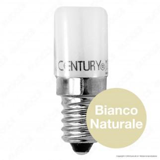 Century Lampadina LED E14 1,8W Tubolare per Frigoriferi