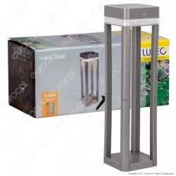 Lutec Lampada LED da Terra 1W con Pannello Solare e Picchetto - mod. P9080-450-3K