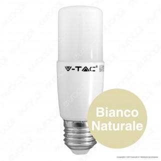V-Tac VT-2089 Lampadina LED E27 9W Tubolare T37 - SKU 7257 / 7258