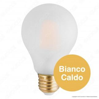 Girard Sudron Lampadina LED E27 10W Bulb A70 Standard Matt Filamento