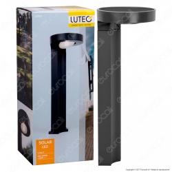 Lutec Lampada LED da Terra 2W con Pannello Solare - mod. P9067-450
