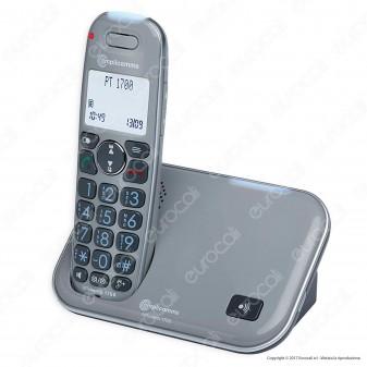 Amplicomms PowerTel 1700 Telefono Cordless per Portatori di Apparecchi Acustici