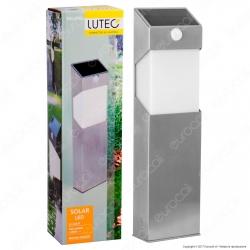 Lutec Lampada LED da Terra 2,3W con Pannello Solare e Sensore di Movimento - mod. ST9079-450