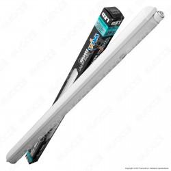 Wiva Tubo LED Plafoniera 30W mod. Niagara Lampadina 120cm Impermeabile
