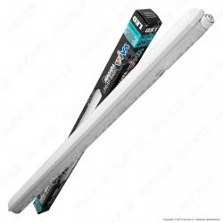 Wiva Tubo LED Plafoniera 38W mod. Niagara Lampadina 120cm Impermeabile