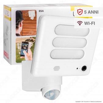 Lutec Secury'Light Faretto LED di Sicurezza 25W con Sensore e Telecamera WiFi