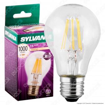 Sylvania ToLEDo Retro Lampadina LED E27 7,5W Bulb A60 Filamento