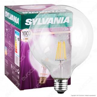 Sylvania ToLEDo Retro Lampadina LED E27 7,5W Globo G124 Filamento