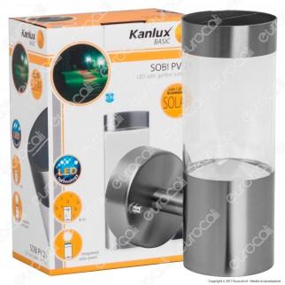 Kanlux Sobi PV Lampada da Muro LED 0,15W con Pannello Solare