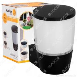 Kanlux SORTA 16L-UP Portalampada da Giardino Wall Light da Muro per Lampadine E27 - mod.25680
