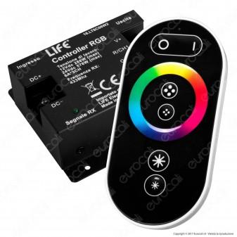Life Controller per Strisce LED RGB con Telecomando Touch