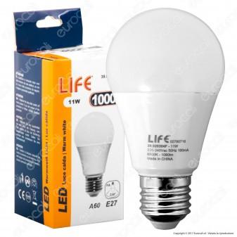 Life Serie EL Lampadina LED E27 11W Bulb A60