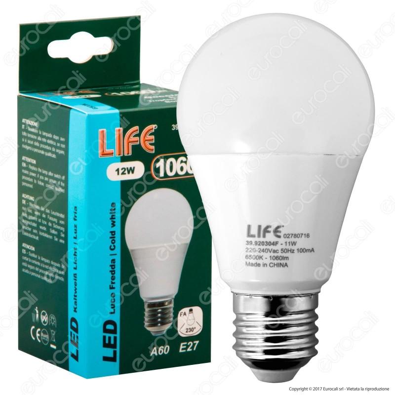 Life Serie EL Lampadina LED E27 12W Bulb A60