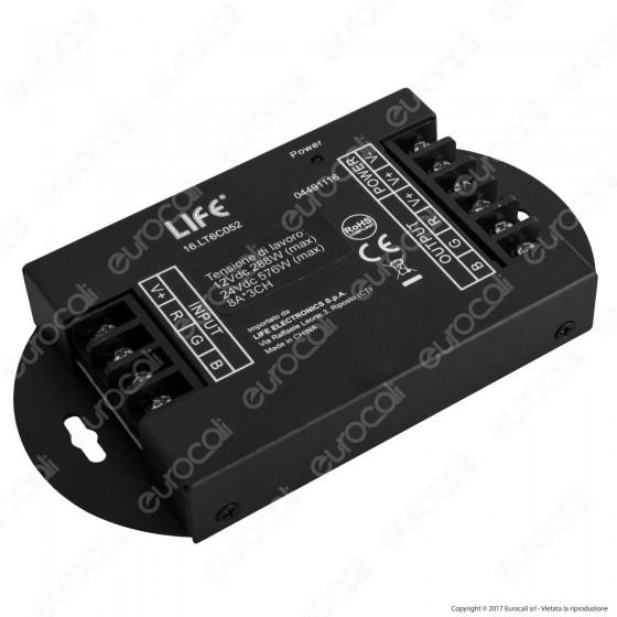 Life Amplificatore di Segnale per Strisce LED RGB