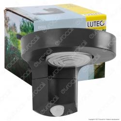 Lutec Lampada LED da Muro Wall Light 2W con Pannello Solare e Sensore di Movimento - mod. P9067