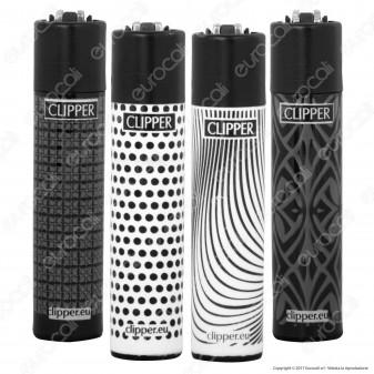 Clipper Large Fantasia Texture Tronex - 4 Accendini