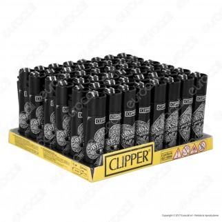 Clipper Large Fantasia Games 18 - Box da 48 Accendini
