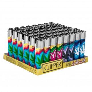 Clipper Large Fantasia Large Maria - Box da 48 Accendini