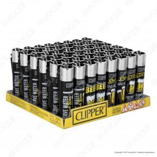 Clipper Large Fantasia Sentences 14 - Box da 48 Accendini
