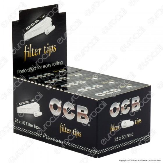 OCB Easy Filtri in carta - Scatola da 25 Blocchetti