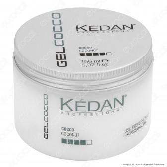 Kédan Professional Gel Cocco Ideale per un Look Brillante e Moderno - Barattolo da 150 ml