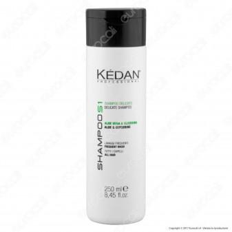 Kédan Professional Shampoo Delicato con Aloe Vera e Glicerina - Flacone da 250ml