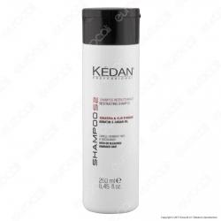 Kédan Professional Shampoo Ristrutturante con Keratina e Olio d'Argan - Flacone da 250ml
