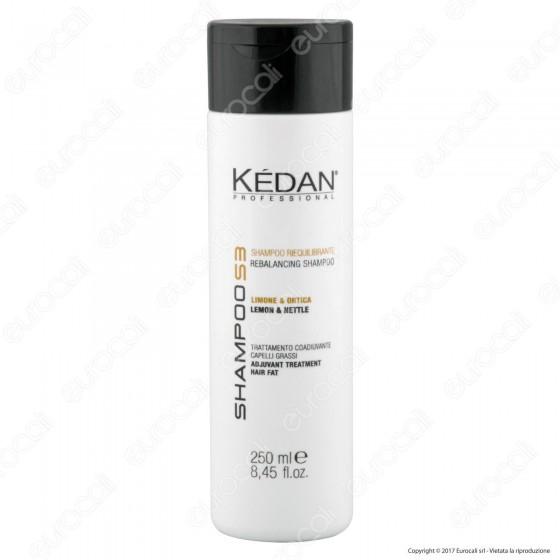 Kédan Professional Shampoo Riequilibrante con Limone e Ortica - Flacone da 250ml