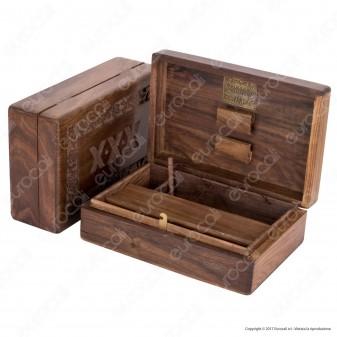 Original Kavatza Amsterdam Spliff Box Stazione di Rollaggio in Legno